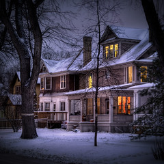 Another Wolseley Winter (bryanscott) Tags: winter house winnipeg manitoba hdr wolseley