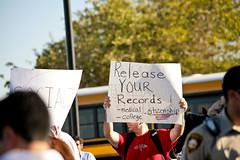 IMG_6653 Barack Obama Rally at Bonanza High School, Las Vegas (nabila4art) Tags: people lasvegas crowd huge barackobamarally bonanzahighschool