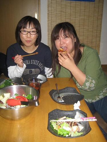 Ria and Eiko