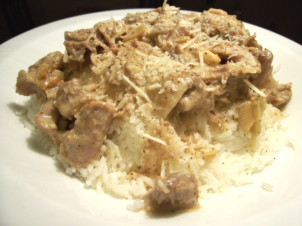 Cheesy Pork Stew
