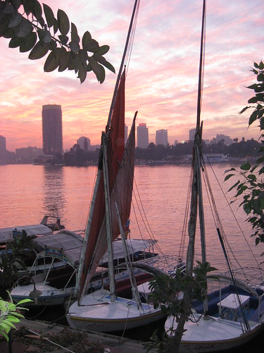 Feluccas on the Nile - unedited