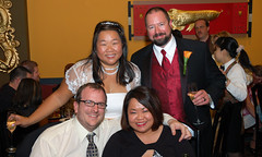 Newlyweds with Jim and Celia