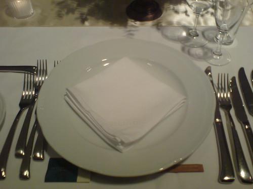 披露宴食事前