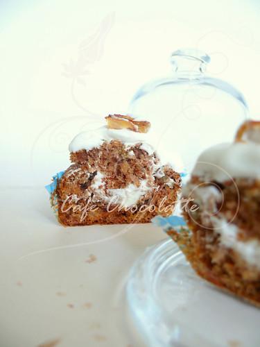 Persimmon Cupcake