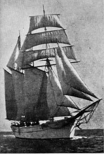 bergantín - goleta Capitán Planas
