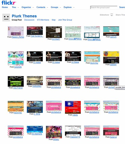 Taiwan plurk theme