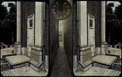 Alley (plattlandtmann) Tags: triptych sureal g9 2bdasest tnxtokittykatfishandpixelsnapforusingthettvandtexture
