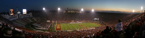Los Angeles Coliseum panorama