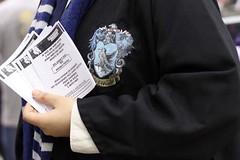"Lançamento ""Contos de Beedle, o bardo"" (HPcosplay) Tags: blue costumes cosplay wizard magic harry potter harrypotter fantasy fantasia hogwarts witchcraft magia jkrowling ravenclaw beedle corvinal wizardsportal"