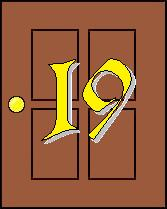 Click on door number 19 for today's advent image