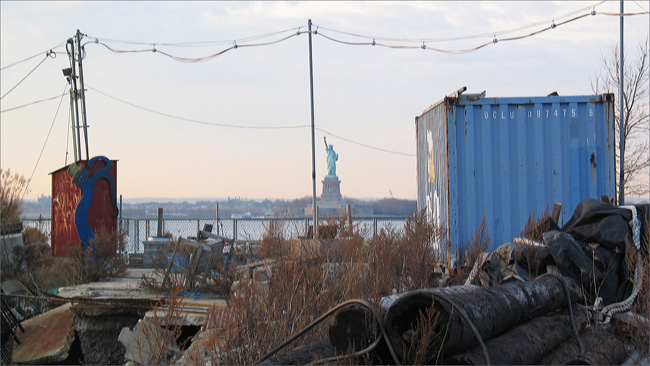The View from Red Hook, Brooklyn