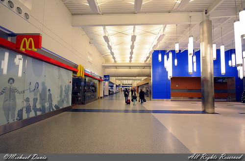 Dtw Terminal Map. It's a nice spacious terminal,