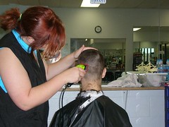 Haircut (TravisCutter) Tags: boy haircut men hair buzz head barbershop barber shave cape fade buzzcut haircuts clippers