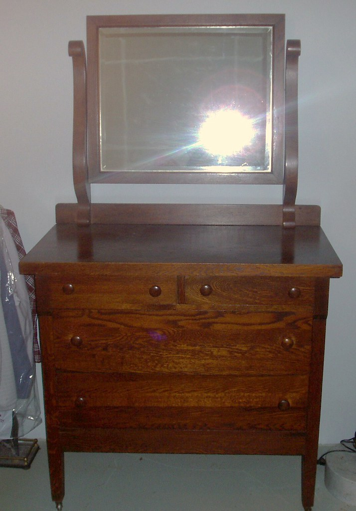 Mission Style Wash Stand - Lenoir (not broyhill) $250.00