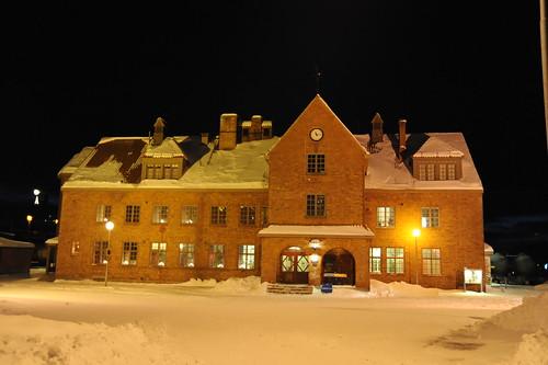 Kirunaの駅