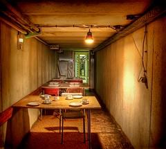 Der Speiseraum (Batram) Tags: urban lost place decay nuclear bunker ddr exploration hdr atom mfs stasi codename urbex frauenwald batram ministeriumfrstaatssicherheit trachtenfest speiseraum stasibunker