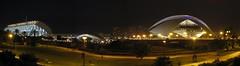 Panoramic of the City of Arts & Sciences, Valencia - Nov 2008 (Sr. Fernandez) Tags: espaa valencia night canon eos noche spain nocturna eos450d 450d