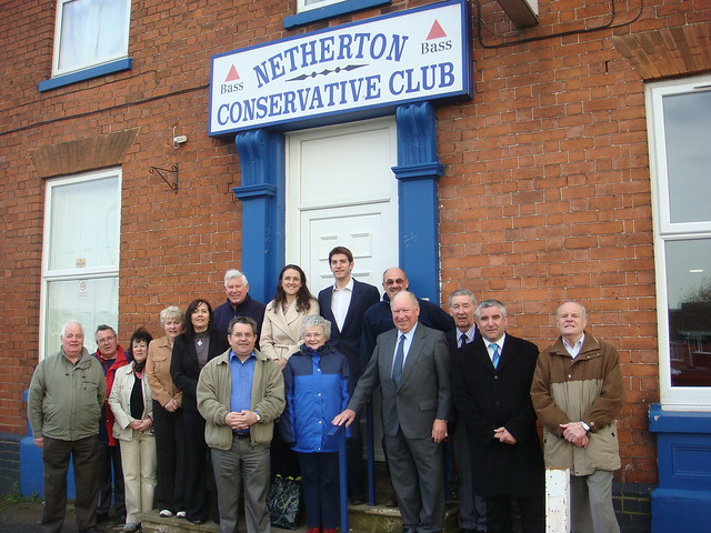 Conservative Clubs Mike Wood Mp