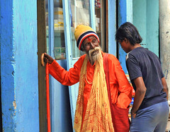 After you sir! (Bindaas Madhavi) Tags: street old people india color way time market young philosophy give hyderabad humble humility replace bindaas madhavikuram mkuram