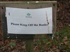 Sound financial advice (-TheDebster-) Tags: london bank richmond advice 2008 financial richmondpark