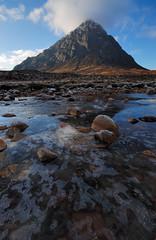 Buachaille And Ice. (stonefaction) Tags: winter landscape scotland highlands scenery december glencoe moor rannochmoor faved rannoch buachailleetivemor