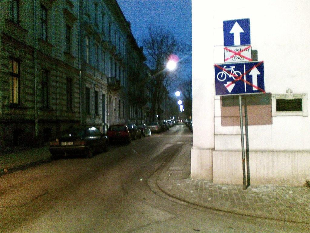 Smolensk, kontrapas - czekamy / waiting for the contra-flow lane