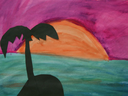 Aamyia's Palm Tree Silhouette