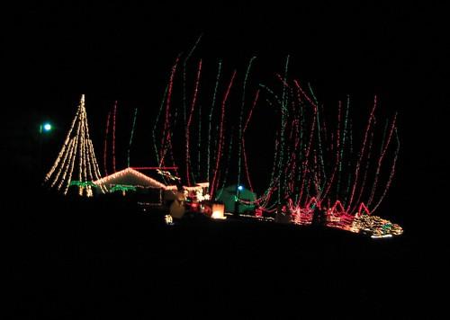My neighbor's Christmas Lights