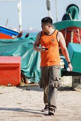 DSC_1118 (thwl) Tags: park beach coast singapore tank top east paparazzi singlet sleeveless