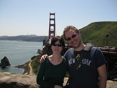 Lore and me with a view (minorissues) Tags: goldengatebridge steven lore minorissues