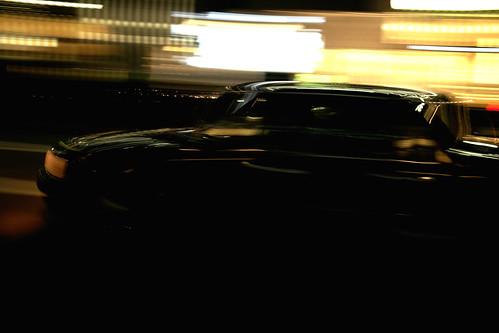 黒の社用車