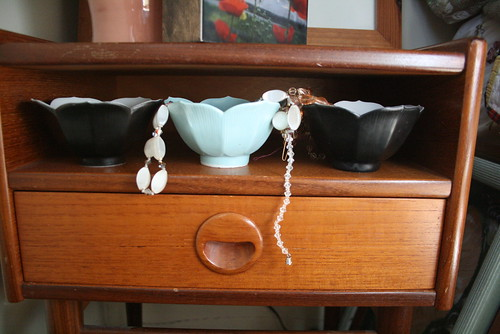 Three Lotus Cups by Bed
