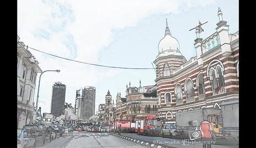 Bangunan Sultan Abdul Samad - Kuala Lumpur by namida -