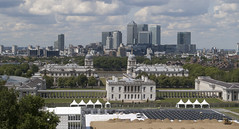 London: Greenwich & Canary Wharf (M@rkec) Tags: uk england london greenwich gb canarywharf queenshouse royalnavalcollege paintedhall 110611