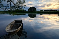 About Old Boat (Dietrich Bojko Photographie) Tags: lake germany deutschland evening abend boat stack lee filters stillness brandenburg ruhe dietrichbojko d7000 dietrichbojkophotographie 9gndsoft 6gndsoft