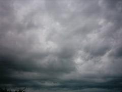 storm clouds over Allen, Texas
