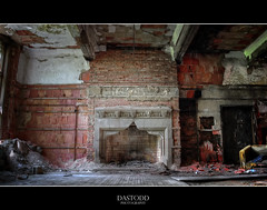 The Forgotten Room (C. Dastodd) Tags: abandoned church fireplace decay indiana gary urbex citymethodist