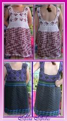 86 (Alona Arobas hand made 2011) Tags: summer wool vintage clothing knitting dress crochet craft yarn cotton granny crocheted croche alonaarobas