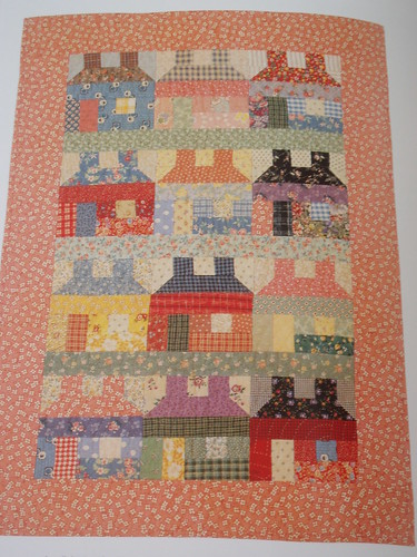 "playhouses from the book ""little quilts"""