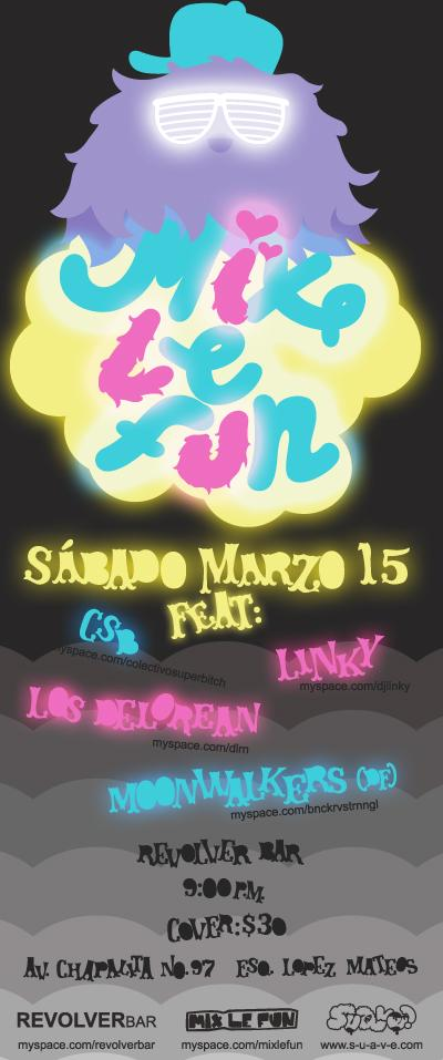 mix le fun marzo