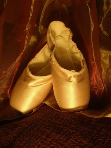 Ballet Shoes via megyarsh