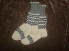 Nordic Grey Socks - Complete