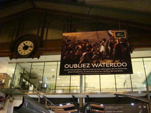 Arrival Gare de Nord