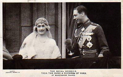 Duke and Duchess of York, Royal Wedding 1923
