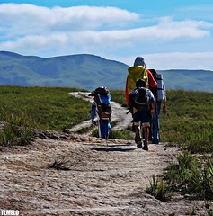 Going - Monte Roraima Trekking (TLMELO) Tags: trekking hiking walk venezuela hike mount climbing backpacking backpack tiago gran monte canaima thiago justdoit caminho mountaineer trilha roraima melo andar sabana mountaineers tepui montanhista impossibleisnothing keepwalking diamondclassphotographer goldstaraward tlmelo dotheimpossible