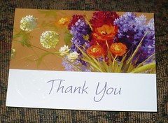 Autism Society of Maine Thank You card