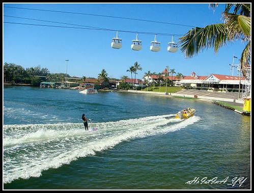 Seaworld: Water Skiing
