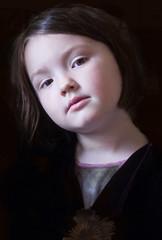 Nell, regal (lesbru) Tags: portrait regal thequeen d40x