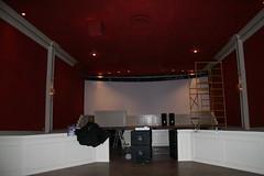 interior of capri theater