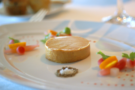 Gluten Free Foie Gras with Pickled radishes and kumquats web 2